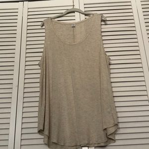 Ivory sparkle tank top old navy Luxe XXL